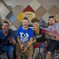 Android Asteroid točí singl s Djem Vadimem a Yarah Bravo v londýnském Red Bull Studiu!