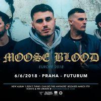 Moose Blood se po roce vrací do ČR!
