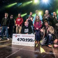 Muzikanti z Divokýho Billa vybrali Zlatušce 470 199 korun na léčbu a strhli rekord letního kina