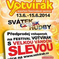 Předprodej na Votvírák 2014 zahájen !