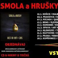 Rozhovor s kapeloou Smola a Hrušky o Best On tour 2015 a súťaž o lístky!