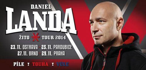Listopad nabízí 4 exkluzivní koncerty Daniela Landy pod nálepkou ŽITO tour 2014